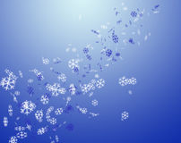 Snowflakes. Christmas snowflakes background.snowflakes.blue royalty free stock photography