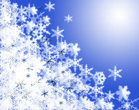 Snowflakes. Christmas snowflakes background.It is snowing Royalty Free Stock Photos