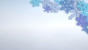 Snowflakes Στοκ εικόνα με δικαίωμα ελεύθερης χρήσης