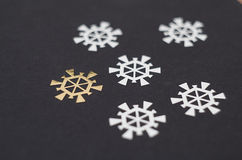 snowflakes Royaltyfria Foton
