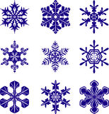 Snowflakes Royalty Free Stock Images