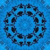 Αφηρημένα snowflakes σχεδίων υποβάθρου Χριστουγέννων backfill απεικόνιση αποθεμάτων