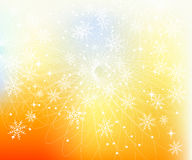 Snowflakes background Royalty Free Stock Photos