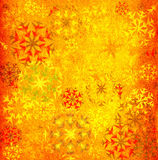 Snowflakes background. Grunge colorful snowflakes background; illustration Stock Images