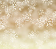 Snowflakes background. Sepia color background with snowflakes background Christmas concept Royalty Free Stock Photo