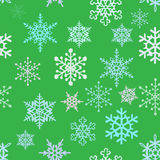 Snowflakes background Stock Image