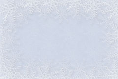 Snowflakes background Stock Photography