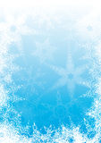 Snowflakes_background Fotografia Stock Libera da Diritti