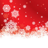 Snowflakes Background. With Space For Text Stock Photos