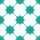 Snowflakes background in blue-green colors. Nowflakes background in blue-green colors. Vector illustration Stock Photos