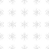 Snowflakes background in light gray colors Royalty Free Stock Images