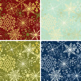 Snowflakes backgrounds Royalty Free Stock Photo