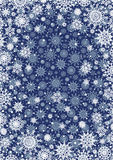 Snowflakes Backgrounds. Royalty Free Stock Photos