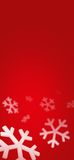 Snowflakes bg Royalty Free Stock Image