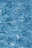 Snowflakes blue background Royalty Free Stock Images