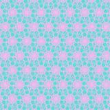 Snowflakes Bright Pattern stock illustration