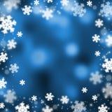 Snowflakes christmas abstarct background, illustration. Snowflakes christmas abstract bokeh background, vector illustration vector illustration