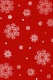 Snowflakes Christmas background Royalty Free Stock Photos