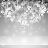 Snowflakes Christmas Background Stock Photography