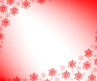 SNOWFLAKES. CHRISTMAS BACKGROUND Stock Photos
