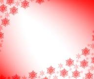 SNOWFLAKES. CHRISTMAS BACKGROUND Stock Photos