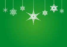 Snowflakes for christmas on background Royalty Free Stock Image
