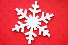 Snowflakes. Christmas decoration with white snowflakes Royalty Free Stock Photos