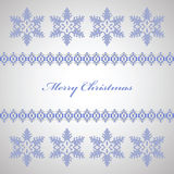 Snowflakes for Christmas Royalty Free Stock Photos
