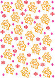 Snowflakes. Composition for wallpaper or desktop Stock Photography