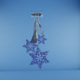 Snowflakes, Cristmas decoration Stock Image