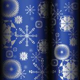 Snowflakes design Royalty Free Stock Photography