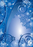 Snowflakes Design royalty free illustration