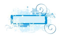 Snowflakes design Royalty Free Stock Images