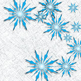 Snowflakes design Stock Photos