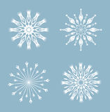 Snowflakes . Royalty Free Stock Photos