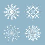Snowflakes . Royalty Free Stock Photos