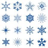 snowflakes för 1 del Arkivbilder