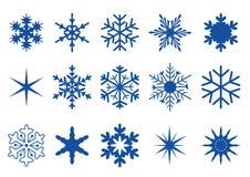snowflakes för 2 del Royaltyfria Bilder