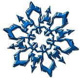 Snowflakes for festival. Seasonal  blue  pattern -  snowflakes for festival Royalty Free Stock Photos