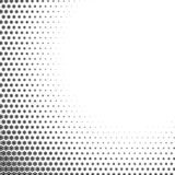 Snowflakes gradient Christmas or New Year abstract background. With halftone style stock illustration