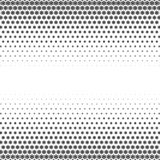 Snowflakes gradient Christmas or New Year abstract background. With halftone style royalty free illustration