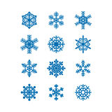 Snowflakes icon collection. Vector Stock Photography