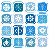Snowflakes icon vectot Stock Photos