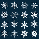 Snowflakes illustration Royalty Free Stock Photography