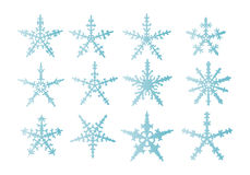 Snowflakes  isolated Royalty Free Stock Photography