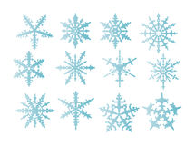 Snowflakes  isolated Stock Image