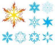 Snowflakes iv002 Royalty Free Stock Image