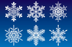 Snowflakes.jpg Photo stock