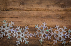 Snowflakes lights Stock Photos