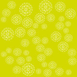 Snowflakes Mandala Στοκ εικόνα με δικαίωμα ελεύθερης χρήσης